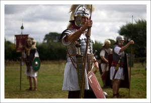 photo of roman soldier
