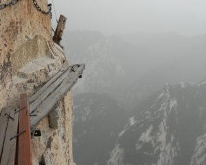 Hau Shan Cliff-side Plank Path